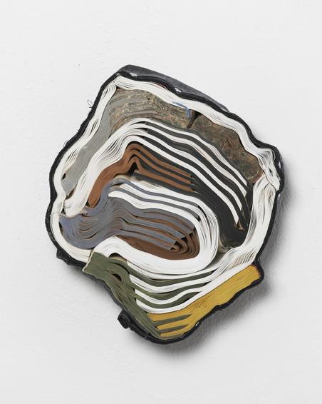 Der italienische Divisionismus der Galerie Grubicy, Geschnittene Bücher, Textilien, Schrauben, ca. Ø 27 x 6, 2011