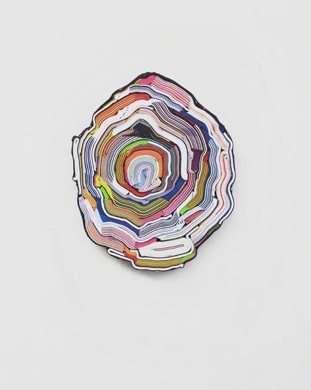 Gedrags Wetenschappen, geschn. Bücher, Textilien, Schrauben, Ø 42 x 6 cm, 2013