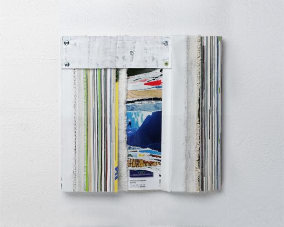 Geo 25 Jahre Jubiläums Edition, Geo Zeitschriften, Plakat, Leinwand, 28 x 28 x 3, 2006
