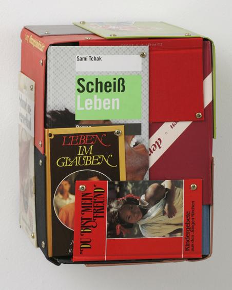 Im Auftrag des Königs, Buchdeckel, Schrauben, 20 x 28 x 20, 2009