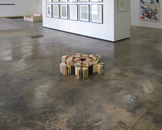 Mini maze, Installation (size variable), MAP Gallery, Richmond, South Africa, Oct. 2014 , 2014