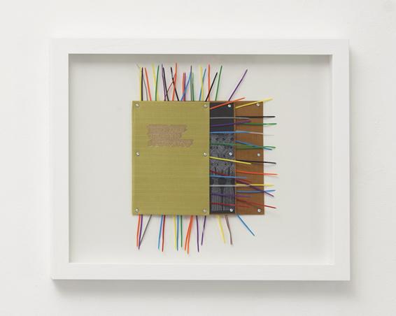 Und der Westen schweigt, Buchdeckel, Kunststoff, Schrauben, ca.: 54 x 44 x 5 cm, 2017