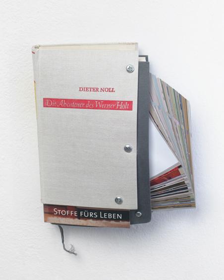 Die Abenteuer des Werner Holt, Bücher, Bucheinbände, Schrauben, ca. 23 x 19 x 7, 2010